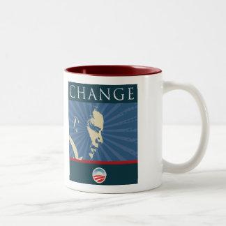 オバマバラクの変更のマグ08 ツートーンマグカップ