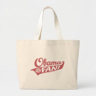 オバマファンのバッグ ラージトートバッグ