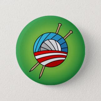 オバマボタンのための編機械 缶バッジ