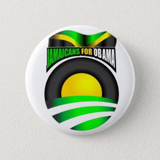オバマボタンのためのJamaicans 缶バッジ