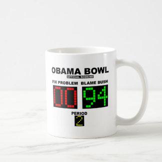 オバマボール-公式の記録 コーヒーマグカップ
