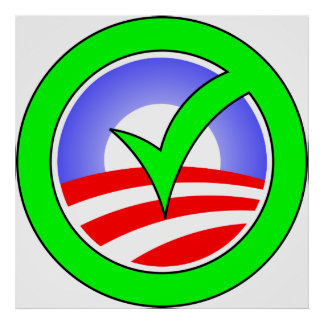 オバマポスターアイコンのための投票 ポスター