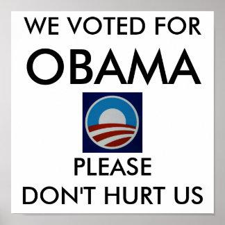 オバマロゴ712385、私達はのために、オバマ、…投票しました ポスター