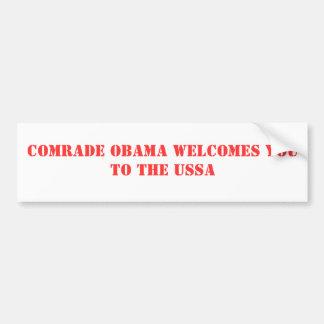 オバマ僚友の歓迎USSAへの バンパーステッカー