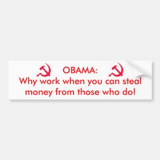 オバマ共産主義者 バンパーステッカー