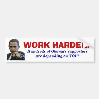 オバマ叔父さんはIIほしいと思います バンパーステッカー
