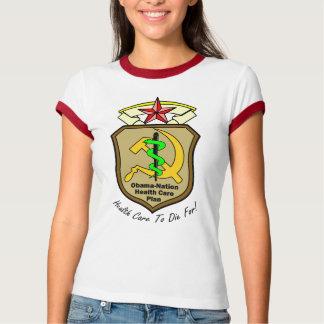 オバマ国家のヘルスケアTW 2 Tシャツ