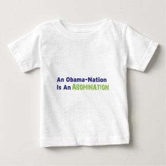 オバマ国家は憎悪です ベビーTシャツ