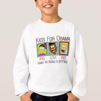 オバマ子供サポート大統領 スウェットシャツ
