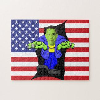 オバマ対アメリカ ジグソーパズル