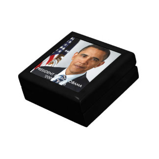 オバマ木のジュエリーの記念品箱の大統領 ギフトボックス