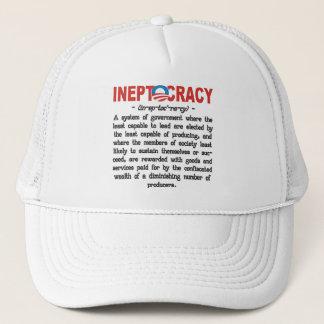 オバマ管理のIneptocracyのTシャツ及び帽子 キャップ