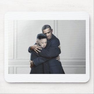 オバマ金Jong国連北朝鮮愛 マウスパッド