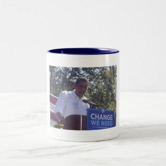 オバマ08のマグ ツートーンマグカップ