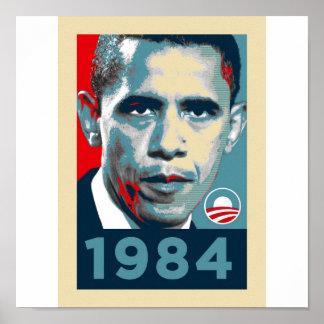 オバマ1984年 ポスター