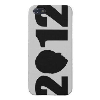 オバマ2012のシルエット iPhone 5 COVER