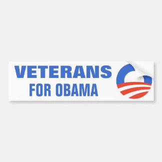 オバマ2012年のための退役軍人 バンパーステッカー