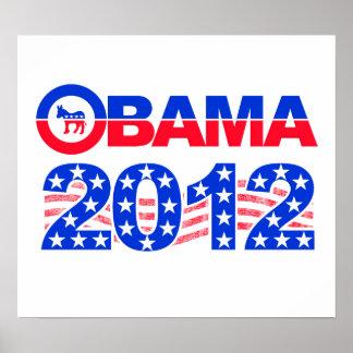 オバマ2012年のポスター ポスター