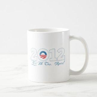 オバマ2012年 コーヒーマグカップ