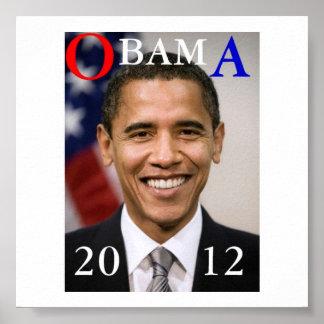 オバマ2012年 ポスター