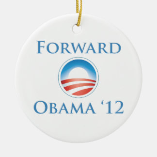 オバマ2012年-前方 セラミックオーナメント