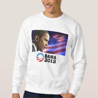 オバマ2012年(愛国心が強い) スウェットシャツ