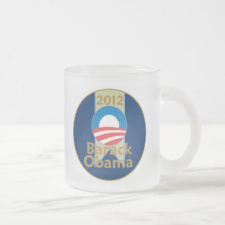 オバマ2013年 フロストグラスマグカップ