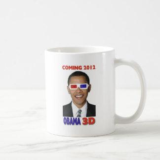 オバマ3D コーヒーマグカップ