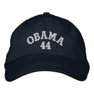 オバマ44の刺繍された帽子 刺繍入りキャップ