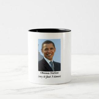 オバマ ツートーンマグカップ