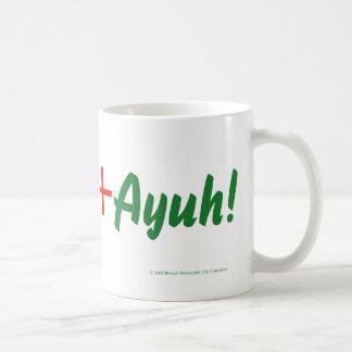 オバマ+メイン+Ayuhのマグ コーヒーマグカップ