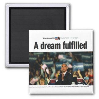 オバマ: 夢によって達成される大会の磁石 マグネット
