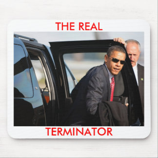 オバマ-実質のターミネーター マウスパッド
