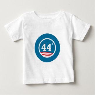 オバマ-平方される44 ベビーTシャツ