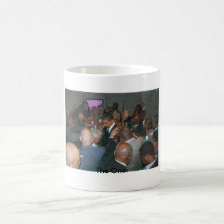 オバマ-手、1 コーヒーマグカップ