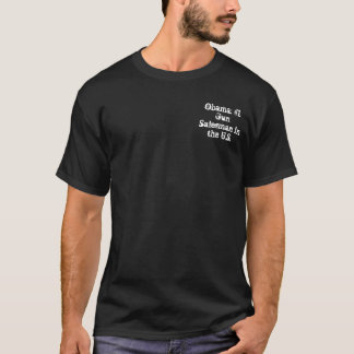 オバマ: 米国の#1銃のセールスマン Tシャツ