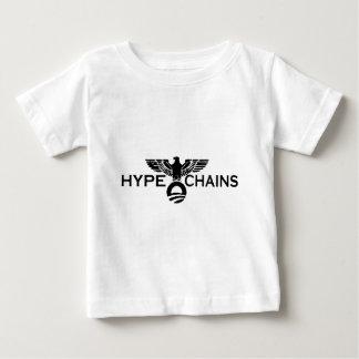 オバマ: 誇大宣伝および鎖 ベビーTシャツ