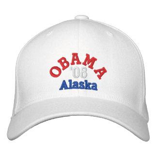 オバマ「08アラスカの帽子 刺繍入りキャップ