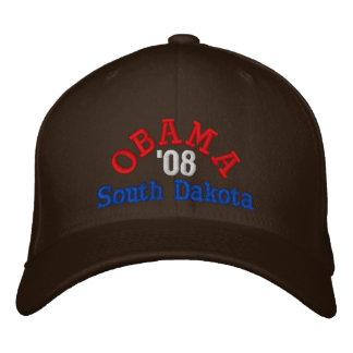 オバマ「08サウスダコタの帽子 刺繍入りキャップ