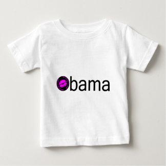 オバマ(Blkのピンク) ベビーTシャツ