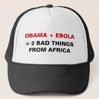 オバマ + Ebola =アフリカの帽子からの2つの悪い事 キャップ