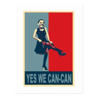 オバマ: Yes私達カンカン ポストカード