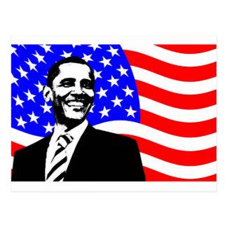 オバマAttire大統領 ポストカード