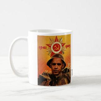 オバマcccp、TheMoveRight.com コーヒーマグカップ
