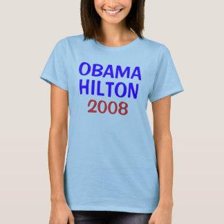 オバマHILTON 2008年 Tシャツ