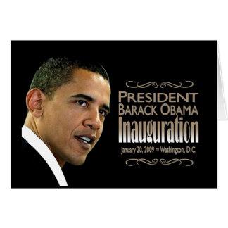 オバマInauguration大統領 カード