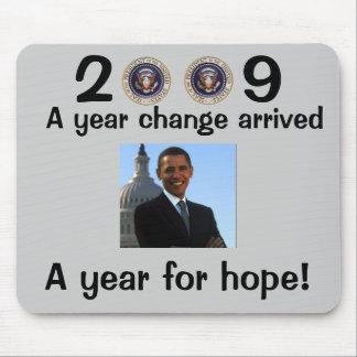 オバマInauguration大統領 マウスパッド
