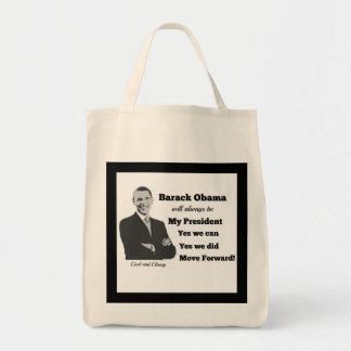 オバマMove Forward Bag私の大統領 トートバッグ