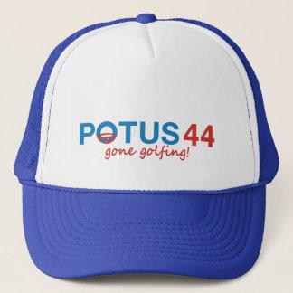 オバマPotus 44の帽子(最も最高のな擦り切れた後方に) キャップ