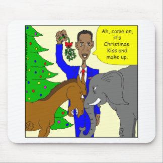 オバマx69ろば象の大統領の漫画 マウスパッド